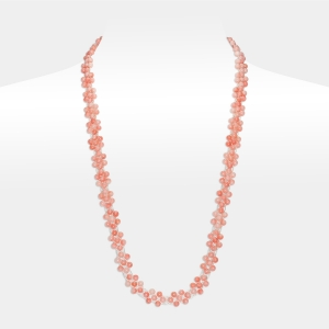 Bridal Necklace With Coral Beads Coral