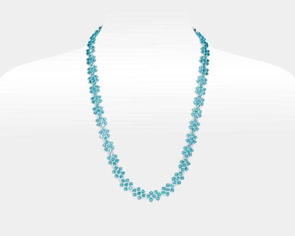 Bridal Necklace With Swarovski Crystals Swarovski crystals