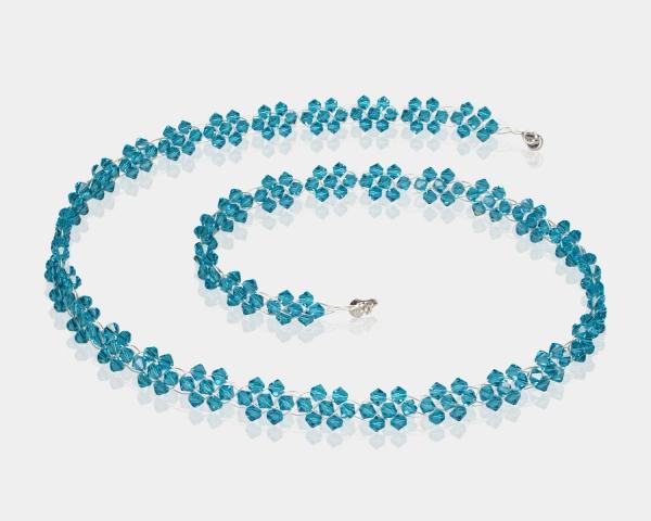 Bridal Necklace With Swarovski Crystals