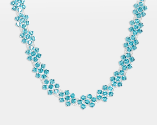 Bridal Necklace With Swarovski Crystals Jewelry,Necklaces