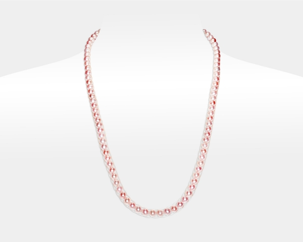Pink Pearl Necklace Freshwater pearls