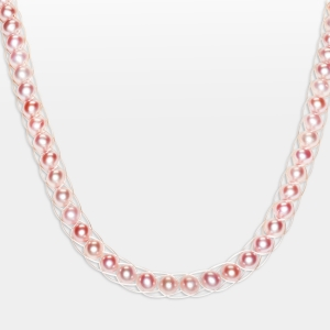 Pink Pearl Necklace Jewelry,Necklaces
