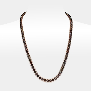 Black Pearl Necklace Freshwater pearls