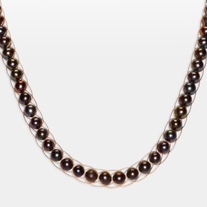 Black Pearl Necklace Jewelry,Necklaces