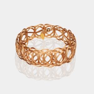 Gold Woven Headband Gold