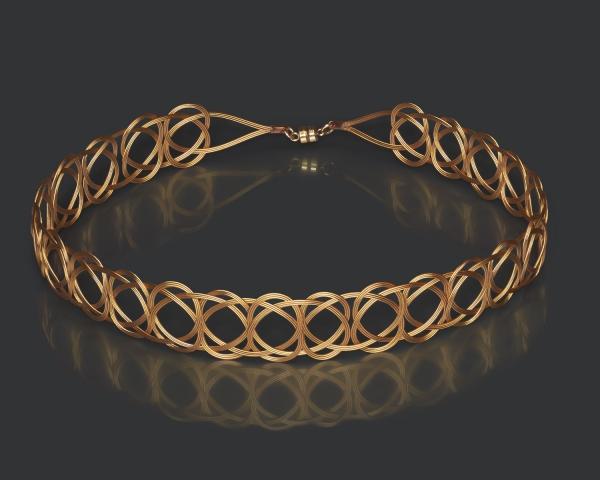 Gold Woven Headband