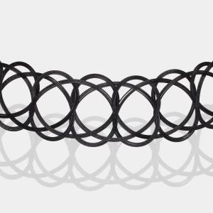 Black Woven Choker Necklace Jewelry,Choker