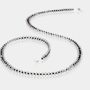 Jeweled Headband With Grey & Black Swarovski Crystals Swarovski crystals