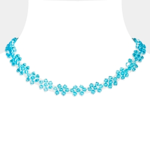 Choker Necklace With Swarovski Crystals Swarovski crystals