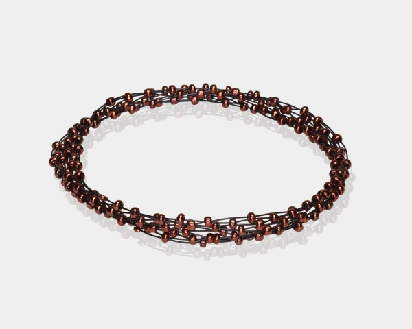 Bronze Jeweled Bracelet