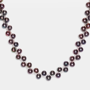 Necklace With Black Pearls Jewelry,Necklaces